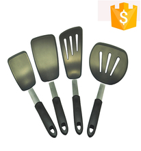 4pcs/lot Stainless steel kitchen utensils set spoon and spatula set