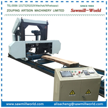 Portable Horizontal Band Sawmills for cutting wood