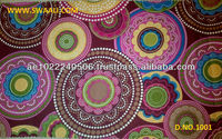 100% COTTON AFRICAN REAL WAX PRINT FABRICS