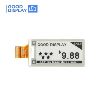 E good display thin low temperature 2.13 epaper display -25~25C