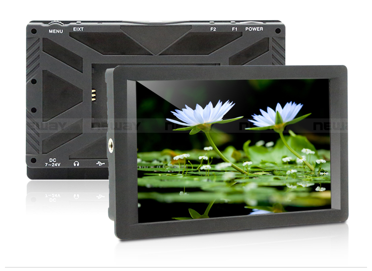 1920*1200 7 inch Full HD DSLR LCD Monitor with USB input