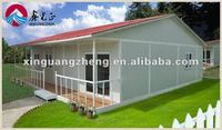 modern prefabricated steel villa