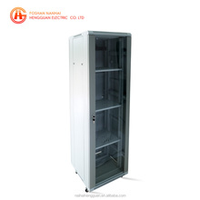 19 inch home network rack with glass door cheap data server cabinet with SPCC