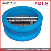wholesale ductile iron dual plate water meter check valve