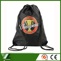 Wholesale sport mesh drawstring bag backpack polyester