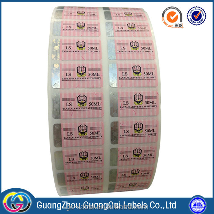 Low price printing plain self-adhesive stickers and labels