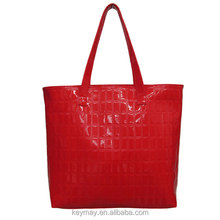 Laptop tote bag ladies handbag shiny pouch high quality pu travel business computer shoulder bag