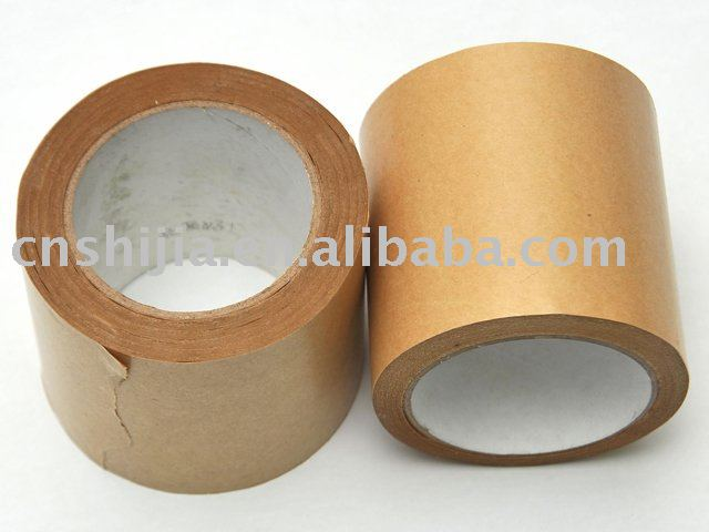 Heat- resist kraft paper tape for synthetic leather