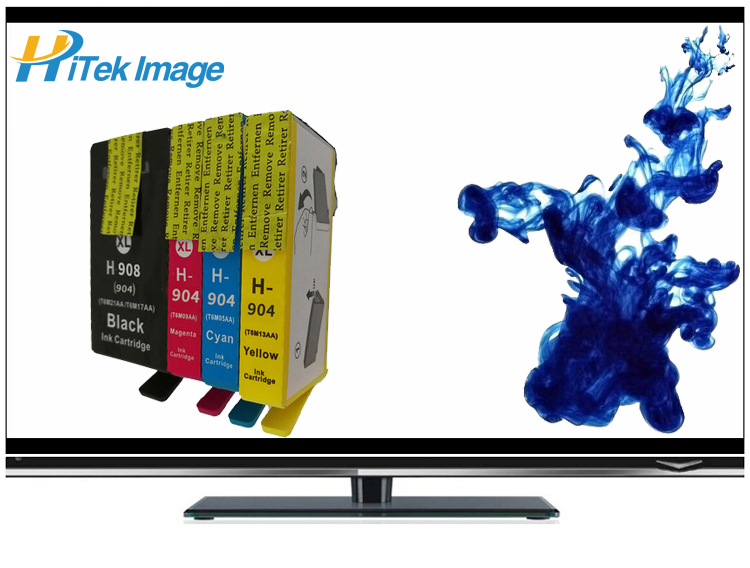 Compatible HP 904XL ink cartridge 904 908 908XLBK 904XLBK 904XLC 904XLM 904XLY 904BK fficeJet Pro 6970 All-in-One Printer