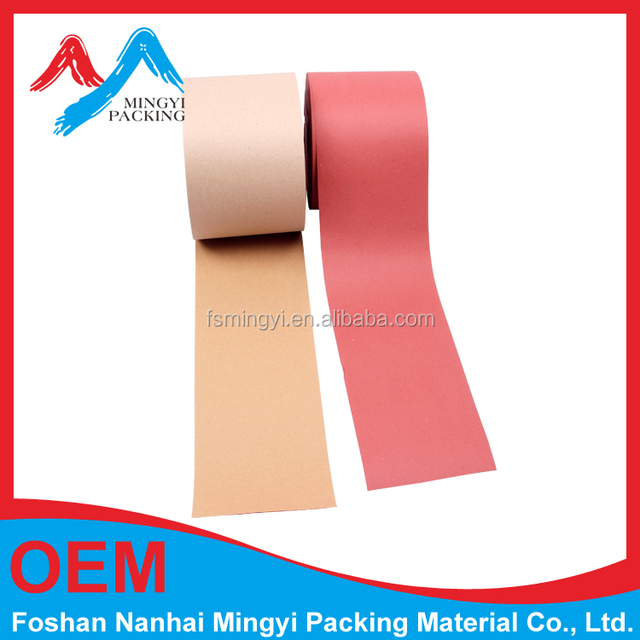 40gsm paper Imitative kraft paper roll can be protect aluminum profile