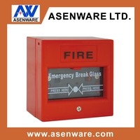 Conventional Fire Alarm Break Glass Manual Push Button