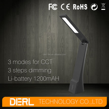 Rechargeable LED table lamp with usb output for emergency lighting