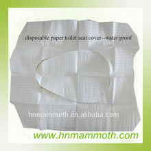 White Plastic disposable Paper toilet seat cover TPN-16-B
