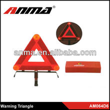 Vehicle toos car warning triangle/car triangle warning sign