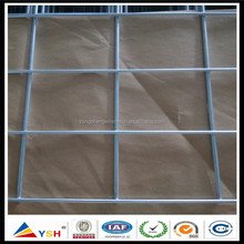 Factory supply 2x2 low carbon iron wire hot dipped galvanized welded wire mesh