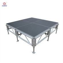 aluminum portable stage curtain stand portable outdoor event stage