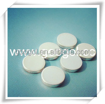 High Precision Silver Cadmium Contacts