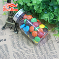 75g wish bottle fastener shape big crispy chocolate beans sweets