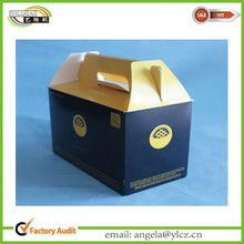Custom Colored Cardboard Gable Box in Weeding Supplies