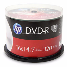 Taiwan H P Blank dvd wholesale. dvd-r 16x 4.7gb