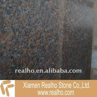 Imported dakota mahogany granite tile