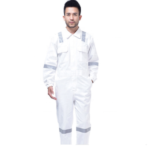 white cotton cheap insulated flame waterproof retardant uniform heated winter work mechanic used boiler suit coveralls