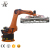 470KG Robot Cement Manual Automatic Interlocking Fly Ash Brick Machine
