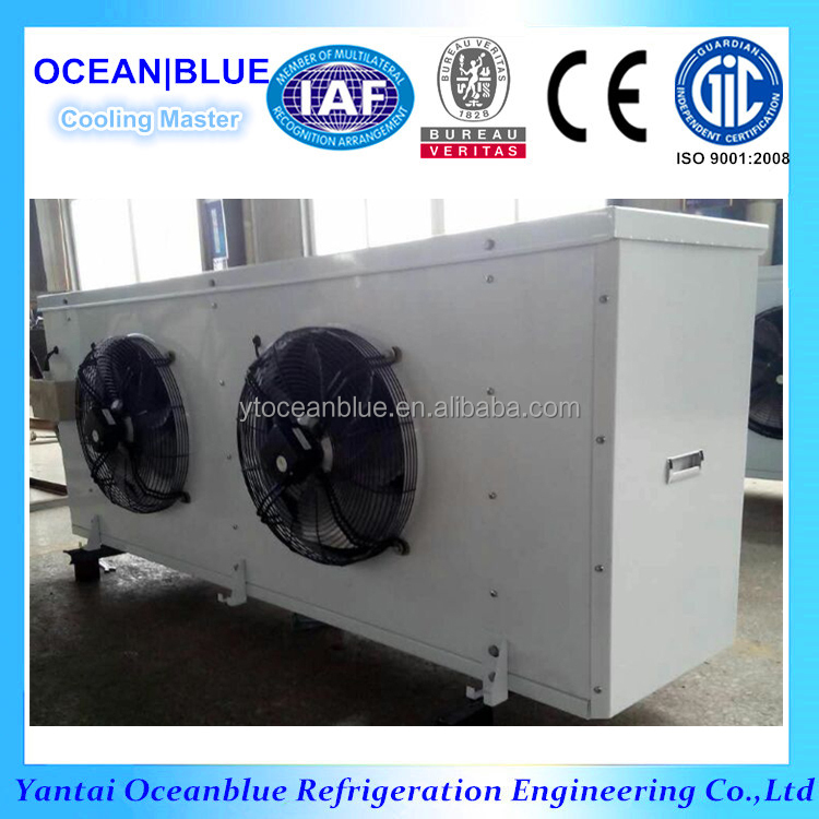 stainless steel tube and fin water defrosting air cooler