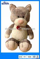 Valentine pluah cat toy, stuffed animal toy