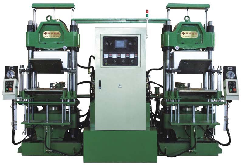 silicone rubber injection rubber heat press vulcanizing ZXF-100-3RT-2-PCD The Vacuum Oil seal molding Machine