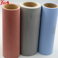Wholesale high temperature core-tex silicone rubber impregnated coated colored fireproof fiberglass fabric cloth