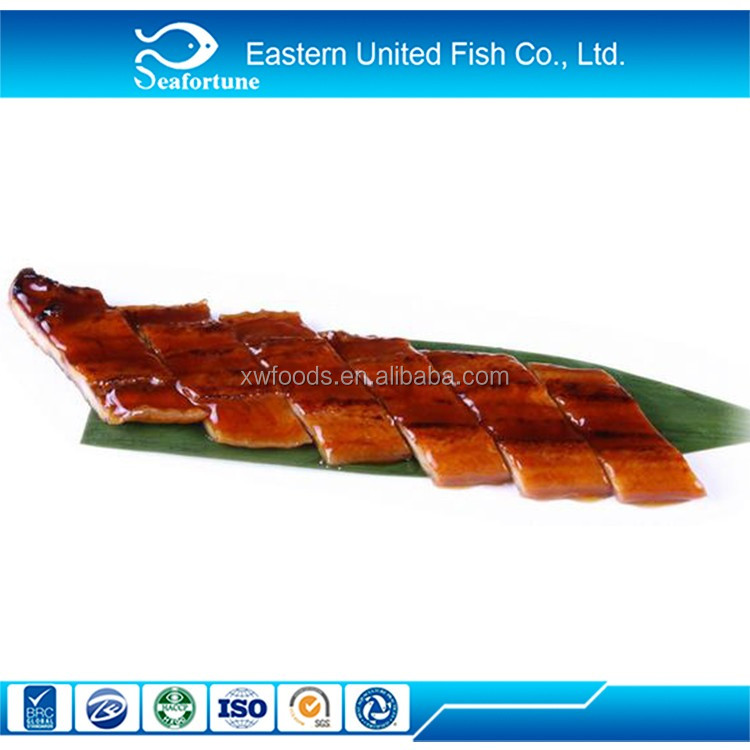 China Factory Supplier Various Types Of Frozen Smoked Eel