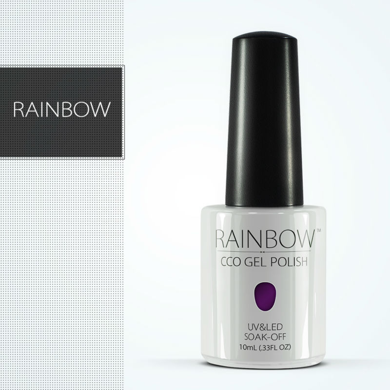 CCO 10ml Rainbow Brand New Women CoCo UV Color Gel