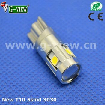 2017 Factory Made Price T10 led Interior Autolights Cars Motors 5smd LG3030 bulbs 501 194 168 auto Led Lamps