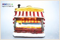 OEM Resin Miniature Mini House Ice cream house Cake house