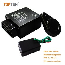 OBD gps trackers with bluetooth & RFID, Detect vehicle status