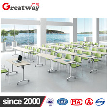Alibaba Office furniture Steel Office Training Table Leg wiht MFC