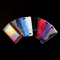 High quality S Line Soft TPU Gel Skin Cover case for Karbonn Titanium Dazzle S202
