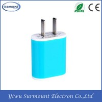 Wholesale mini usb wall charger wall charger adapter of china factory