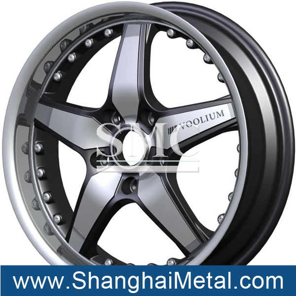 aluminum alloy wheel mould and aluminum alloy wheel hub