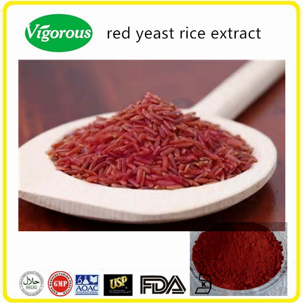 High quality lovastatin red yeast rice extract powder/red yeast rice extract