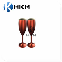 165ml Polycarbonate Champagne Flutes Wine Glasses Unbreakable