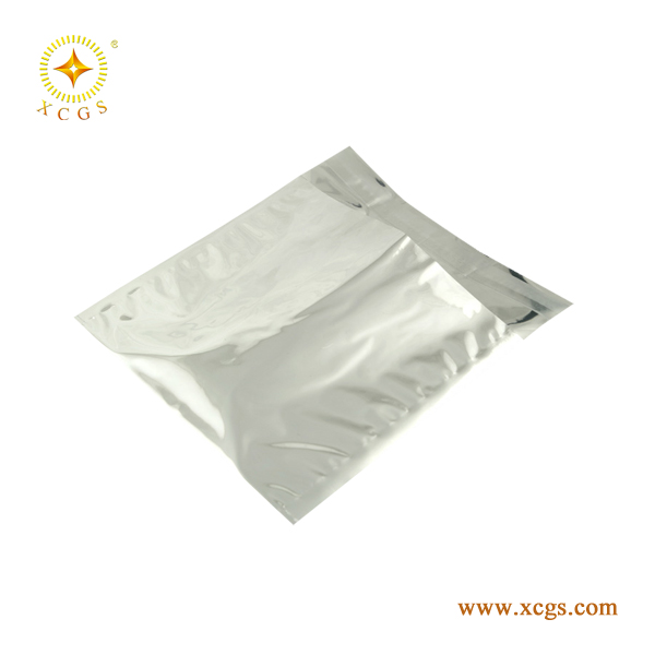 Shiny Antistatic metallized bags for vacum packaging electronics
