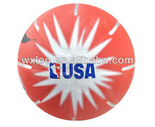Rubber USA/NBA basketball,colorful street basketball,