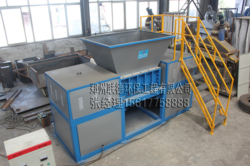 Quality assurance and reliable biaxial plastic film/woven bags/fishnet Shredder machine