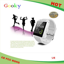 Multi Language watches can connect with your mobile phone support music player U8 smart watches