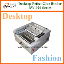 Office school Graphic shop 988V Y8 creasing on-line auto side glue perfect book binding machines  Stop selling