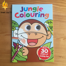Custom Child googly eye coloring <strong>book</strong> for kids
