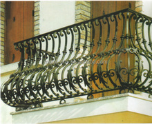 Wrought Iron Window Grill Design for Balconies