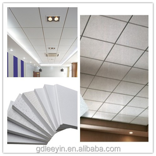 Hot Sale Mineral Fiber Acoustic Ceiling Board For Recording Room